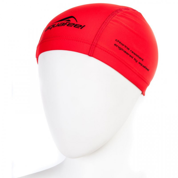 "Шапочка для плавания ""FASHY Training Cap AquaFeel "", арт.3255-40, полиэстер, красный"